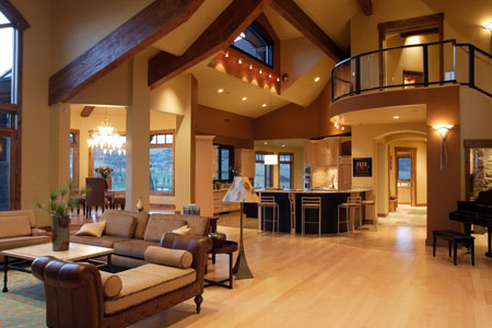 Interior design custom homes