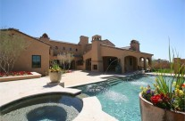 Silverleaf Custom Home  |  Backyard & Pool
